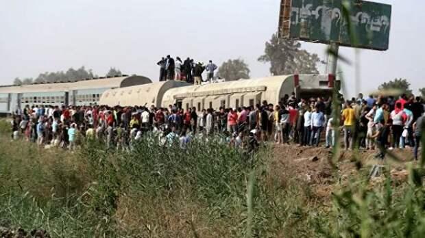 ВЕгипте вжелезнодорожной аварии погибли 23 человека