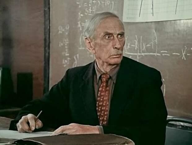 Николай Сергеев в фильме «Опровержение» (1976)