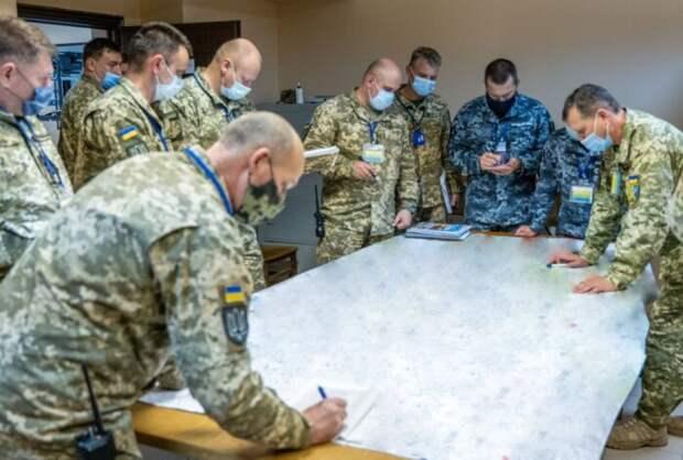 «Слив» о маневрах «Объединенные усилия 2021» — Украина готовит войну с Белоруссией