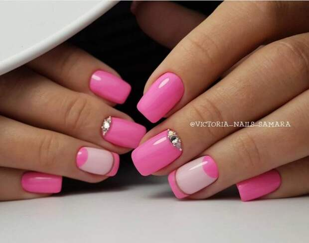 розовый френч фото 6