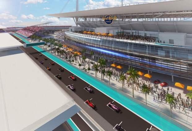 Городской совет Майами единогласно одобрил проведение этапа Формулы 1
