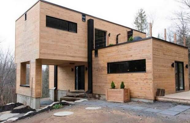 Дом Claudie Dubreuil из контейнеров (трафик)