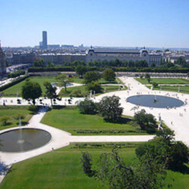 Le Jardin des Tuileries Источник: https://francite.ru/rubrique/a-paris/le-jardin-des-tuileries.html