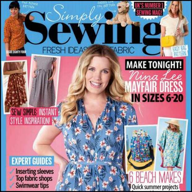 Simply Sewing №84 2021