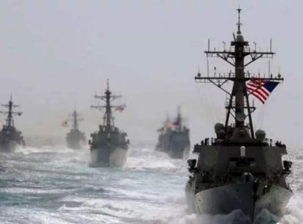 Российские корабли вышли в Черное море, куда направляются эсминцы США