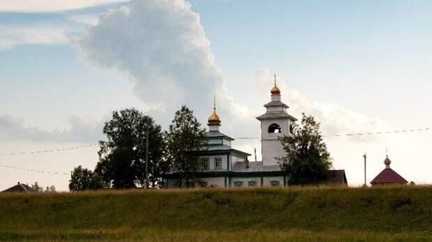 Храм РПсЦ в селе Пристань Свердловской области освящен во имя Троицы Живоначальной