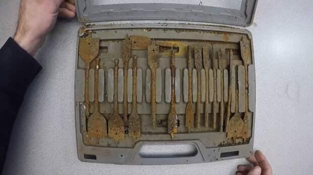 Элементарный способ восстановить заржавевший инструмент, которым давно не пользовались