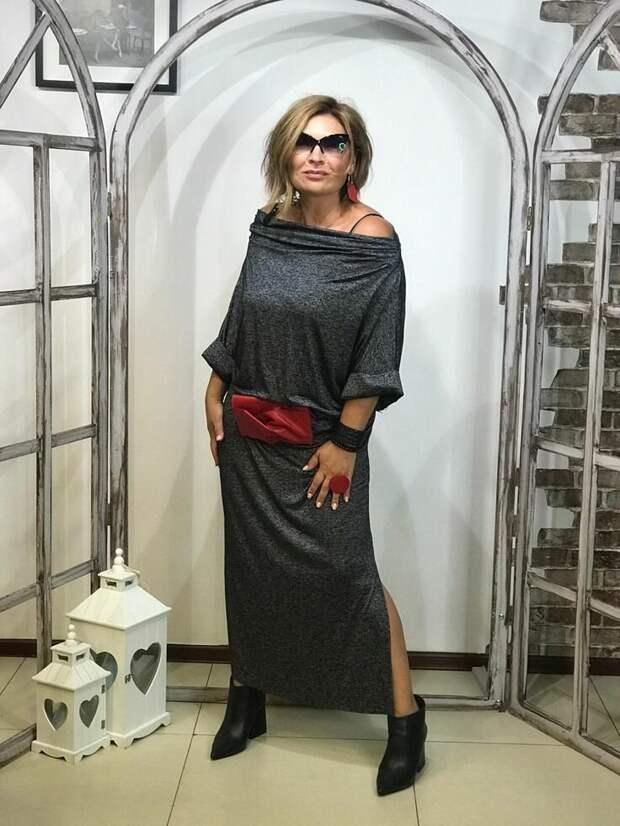 Платья в стиле бохо для женщин 50-60 лет
