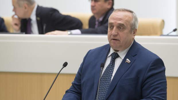 Клинцевич предупредил об угрозе гражданской войны в Киргизии
