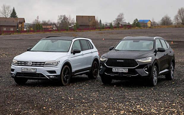 Блог Петра Меньших: Volkswagen Tiguan против Haval F7 – немецкая терапия