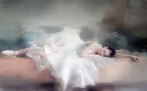 Акварельная живопись от художника Лю Йи.   Фото: gallerix.ru.