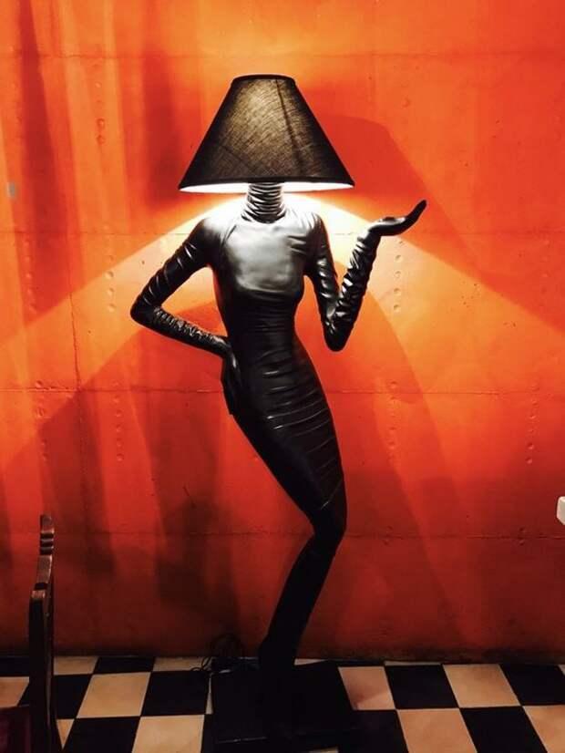 лампы манекены