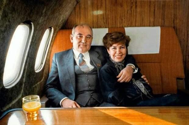 Михаил и Раиса Горбачевы   Фото: materiality.info