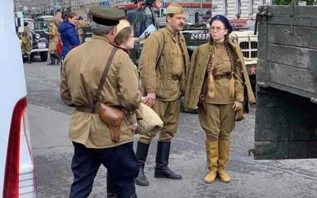 ВХарькове состоялся автопробег, посвященный Дню Победы