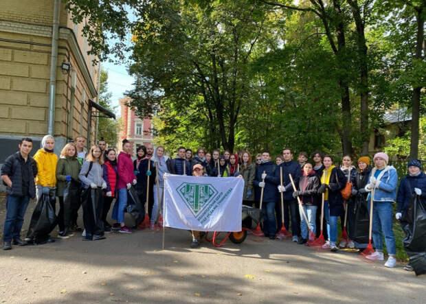 Экоактивисты Тимирязевки отметили Всемирный день чистоты