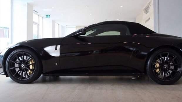 Aston Martin соберет ограниченный тираж Vantage Roadster