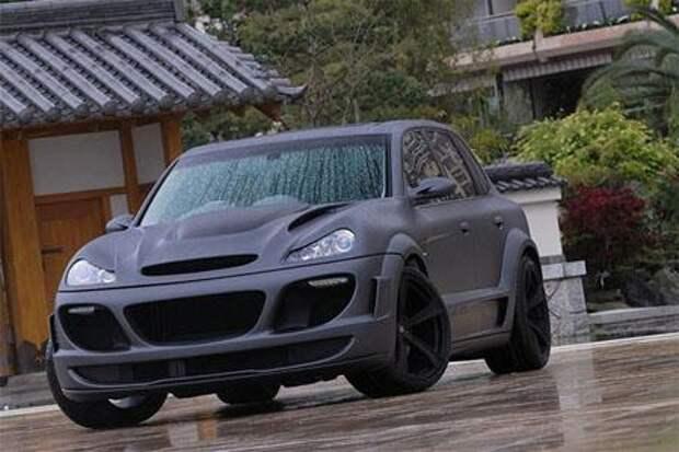 Porsche Cayenne Turbo Tornado от Gemballa