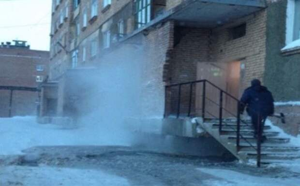 Чиновники Дудинки пытаются скрыть то, что в городе нет тепла Дудинки, тепло, чиновники
