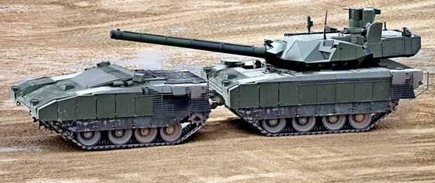 Двухзвенная «Армата» станет российским танком «третьего тысячелетия»