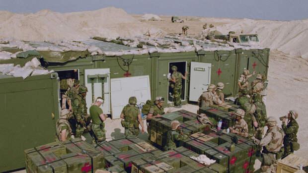 Американская база в Ираке подверглась ракетному обстрелу