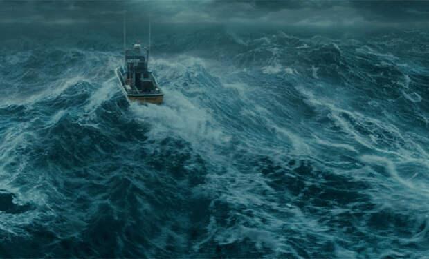 Самый большой шторм в мире. Разверните на весь экран и наслаждайтесь бурей!