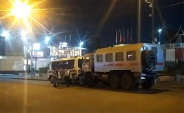 Таджики и киргизы делят Москву в уличных боях