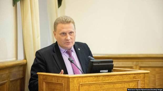 Глава Олонецкого района Карелии Сергей Прокопьев