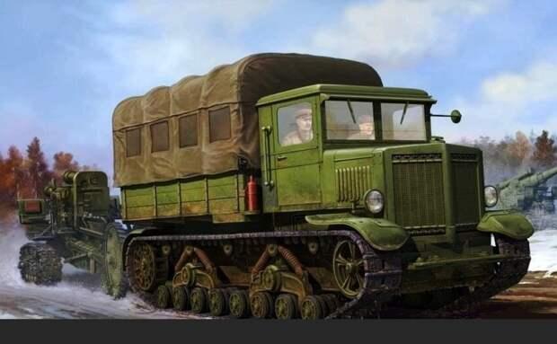 Самый мощный быстроходный трактор
