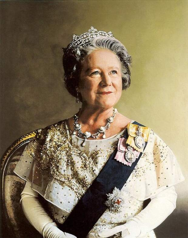 Елизавета, королева-мать. / Фото: www.yandex.net