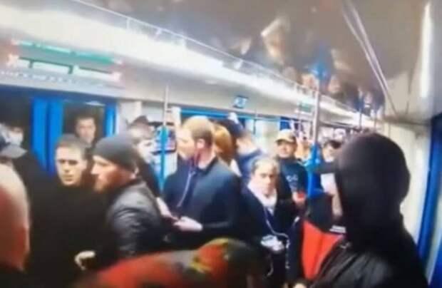 В Москве задержаны зачинщики конфликта на Таганско-Краснопресненской линии метро