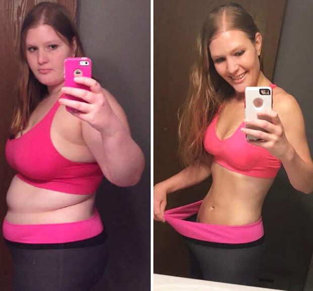 30. - 45 кг похудение, результат