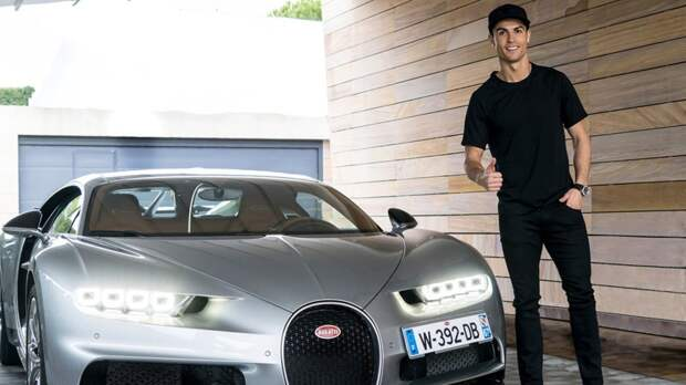 Роналду купил новую модель Bugatti за$9млн. Ихвыпустят всего 10 штук