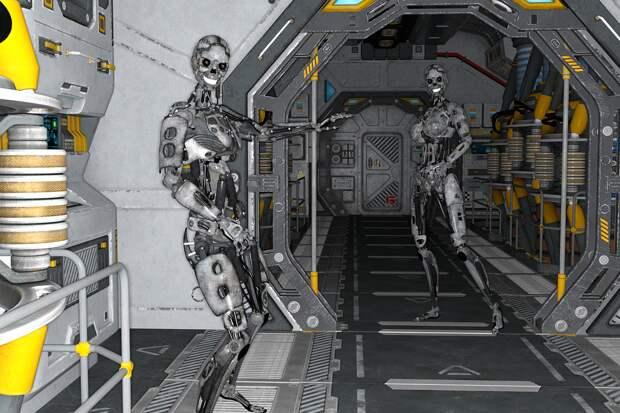 В России задумались о создании отряда роботов-космонавтов