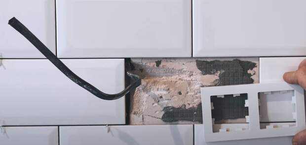 Почему нельзя ставить подрозетнки без проекта на плитку