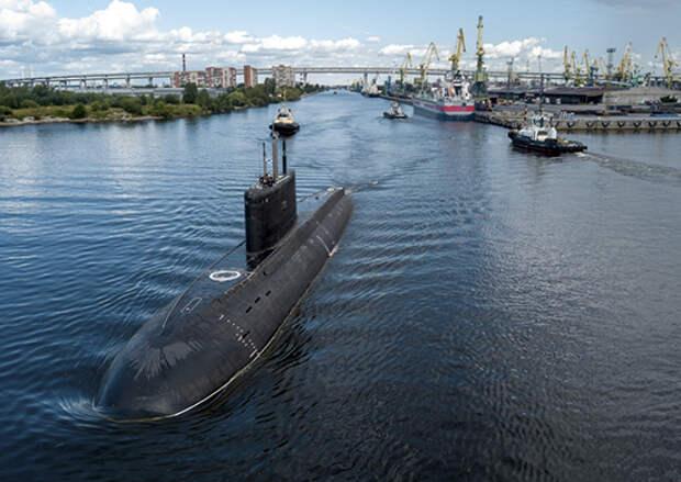 Экипаж дизель-электрической подводной  лодки проекта 636.3 «Магадан» прибудет в Санкт-Петербург 30 апреля