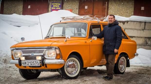 Безумно весёлый «Москвич»: сибиряк купил машину 1979 года и вложил в неё 600 тысяч — смотрим, что получилось