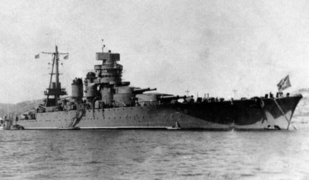 Линкор «Джулио Чезаре». Стал трофеем советского флота и получил название «Новороссийск»