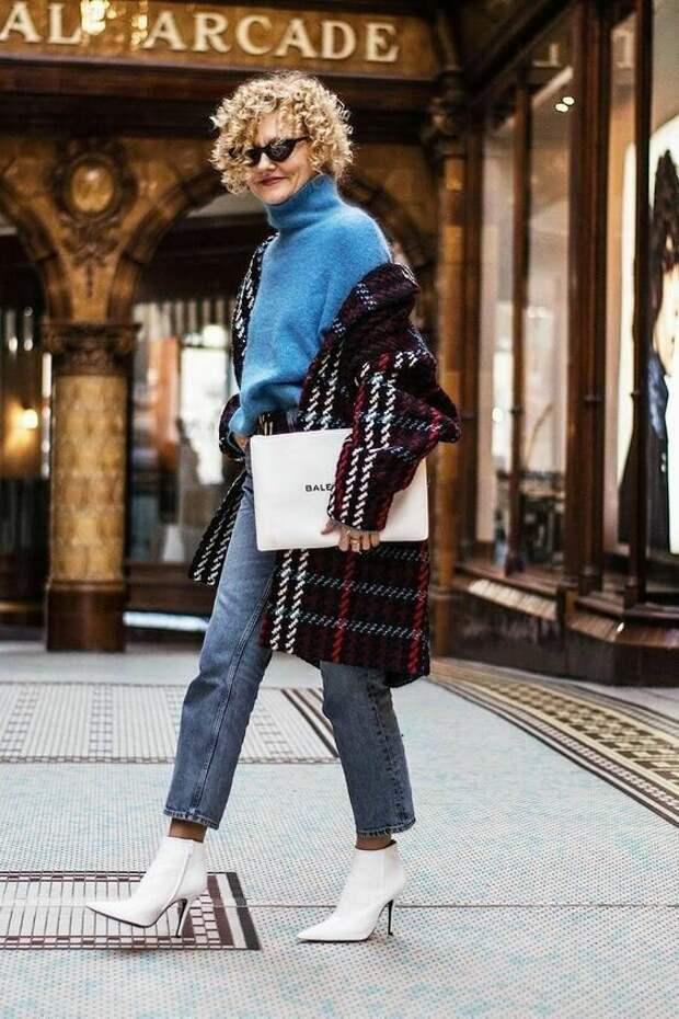 После 40 нужно выглядеть модно, но не вызывающе, как этого добиться