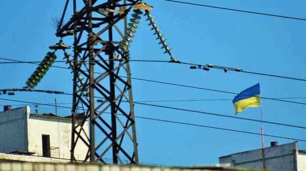 Киев принял решение полностью отказаться от электроэнергии из России и Беларуси