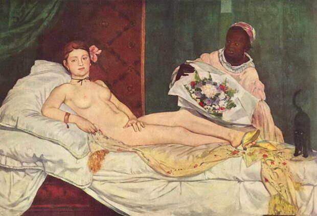 Почему любимую музу Эдуарда Мане сравнивали с «гориллой с зеленой плотью»: Викторина Мёрен