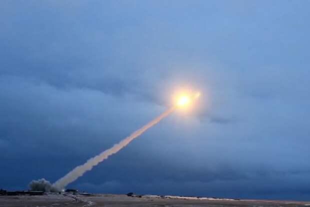 """Летные испытания крылатой ракеты с ядерным двигателем """"Буревестник"""". Фото: Пресс-служба Минобороны РФ"""