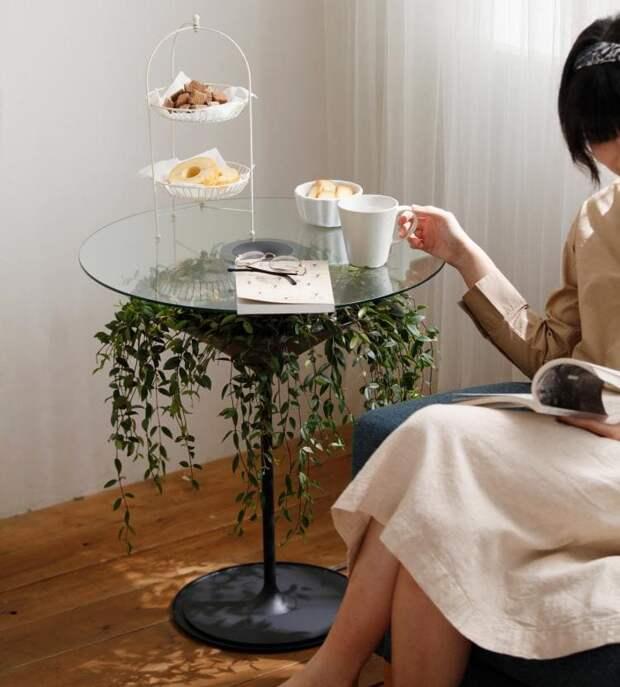 Невероятный стол Oasis, который оживит и украсит любой интерьер