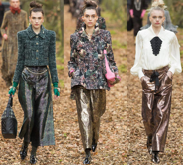 Женские брюки Шанель