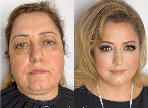Наглядные примеры, показывающие, насколько кардинально может изменить женщину макияж