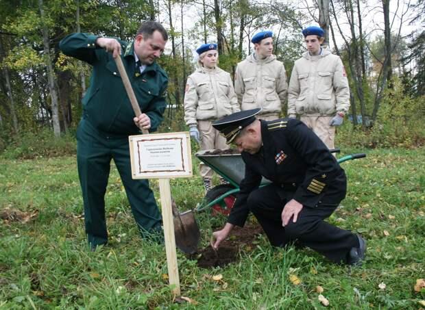 В Ижевске появился «Лес Победы»