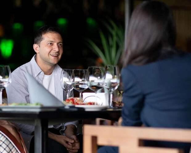 Зеленский поужинал в ресторане со звездой Голливуда (ВИДЕО)