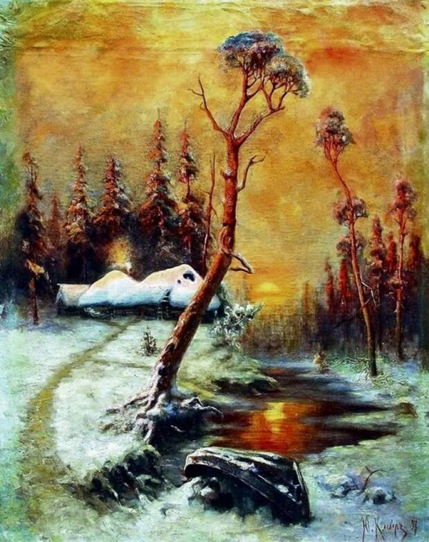 художник Юлий Юльевич Клевер картины – 15