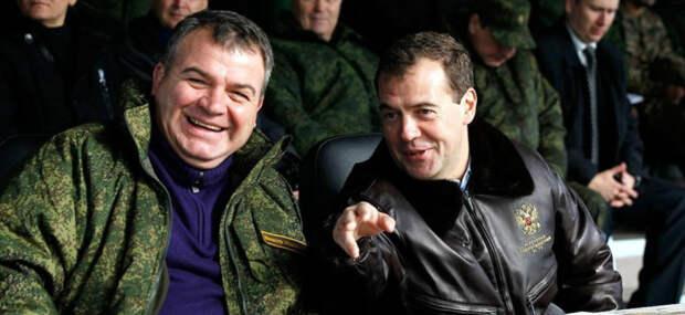 Сердюков выполнил для Путина и Медведева грязную, но необходимую в ходе реформ работу