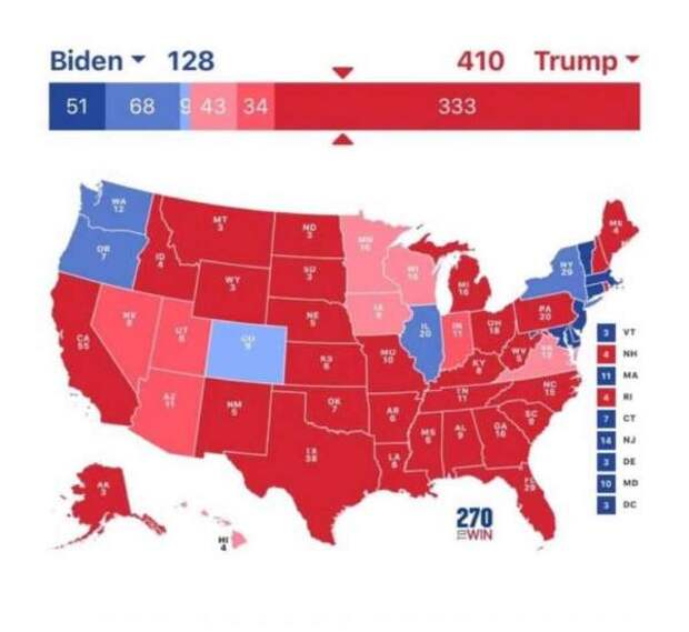 «План Б»: госпереворот в США против Трампа меняет стратегию