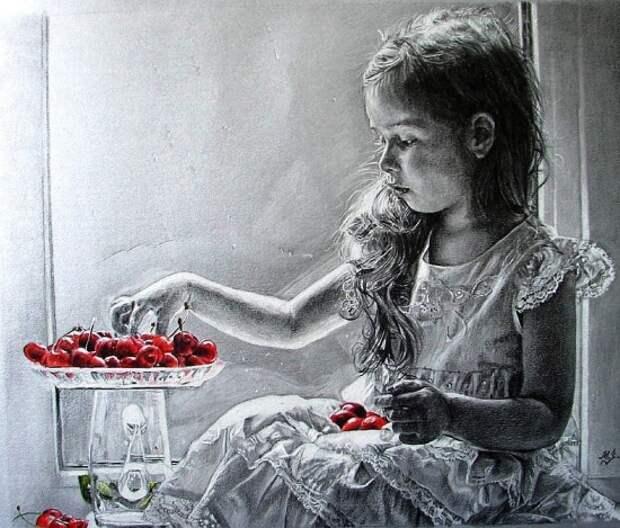 Художник Мария Зельдис. Музыка простым карандашом